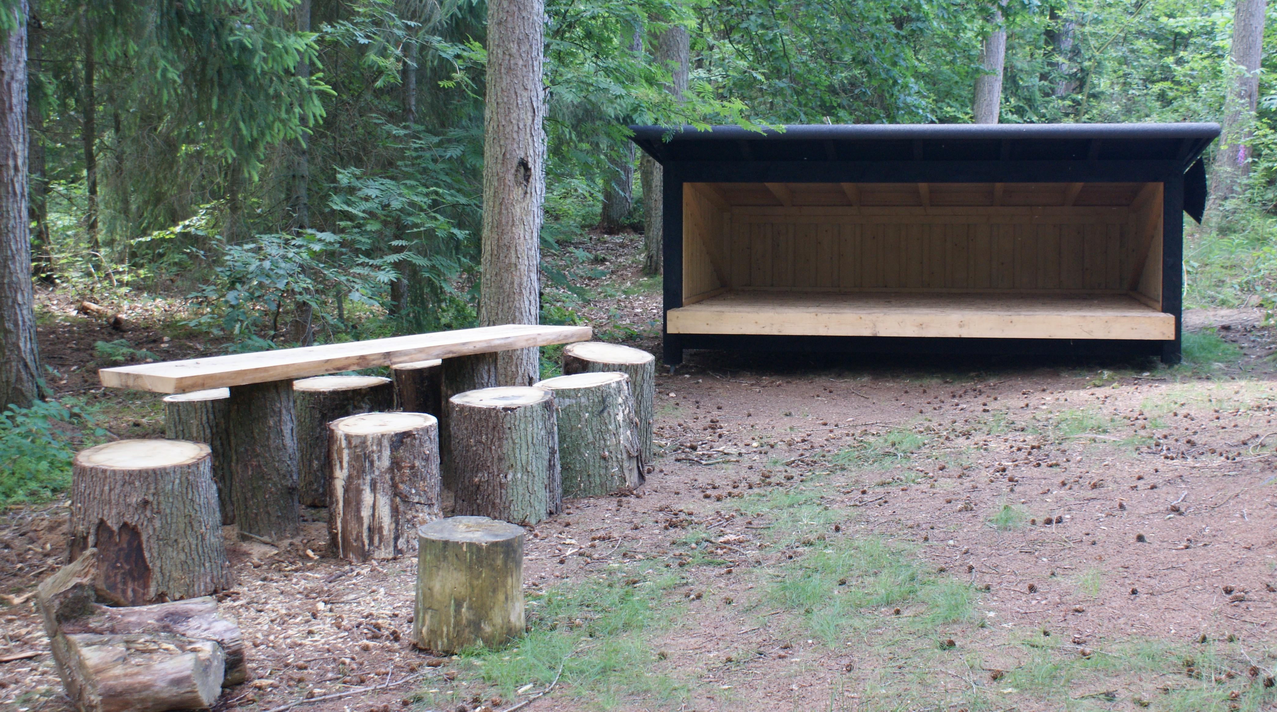 skov og naturstyrelsen shelters